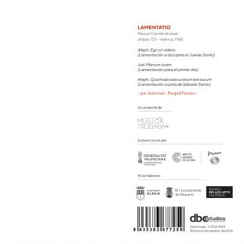 Música Trobada_CD Lamentatio 2